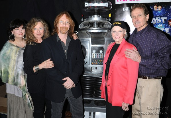 The Cast of Lost in Space at the February 2011 Hollywood Show