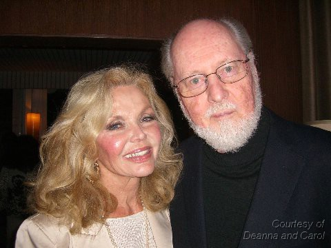 Deanna Lund and John Williams at Lincoln party