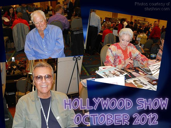 The Time Tunnel Cast at the Hollywood Show 6 October 2012