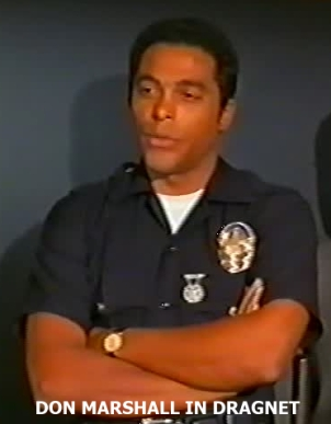 Don Marshall in Dragnet