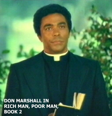 Don Marshall in Rich Man, Poor Man, Book 2