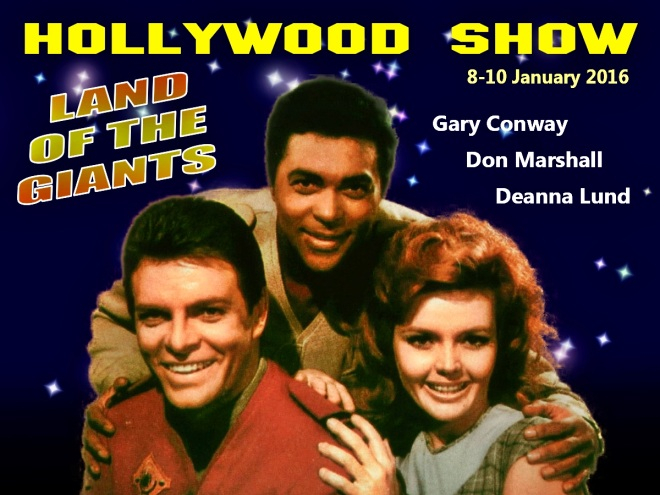 Land of the Giants reunion at the Hollywood Show 8-10 January 2016