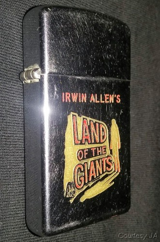 Land of the Giants promotional Zippo lighter