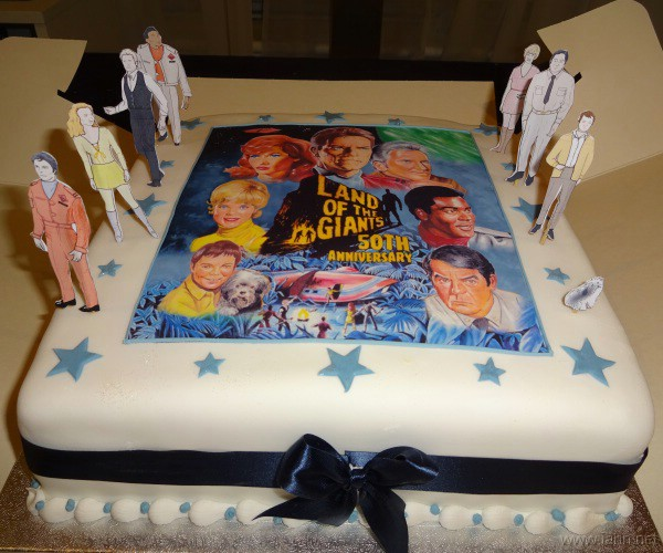 Land of the Giants 50th Anniversary Celebration Cake