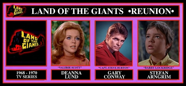 Land of the Giants Reunion at Chiller Theatre Expo 27-29 October 2017