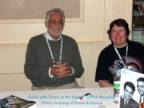 David with Diane at the Boston SUPER Megafest
