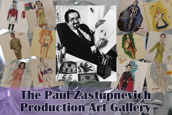 Paul Zastupnevich Production Art Gallery