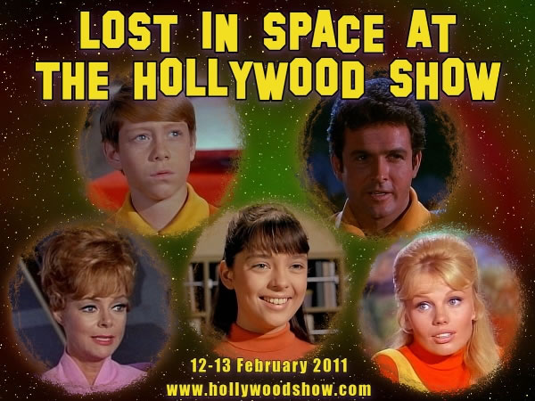 Lost in Space at the Hollywood Show, 12-13 February 2011