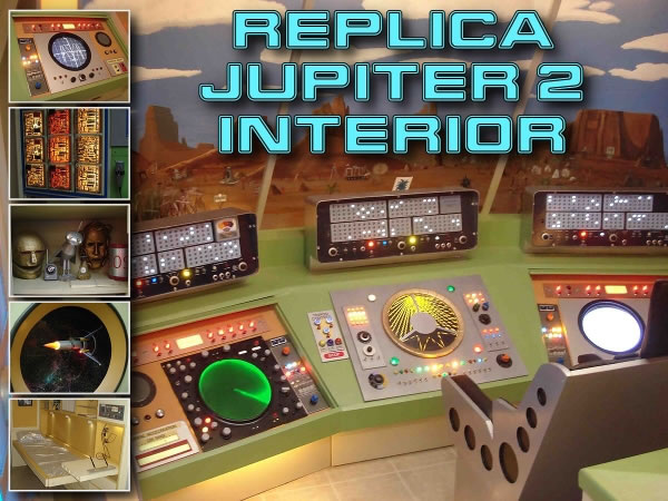 Replica Jupiter 2 Interior