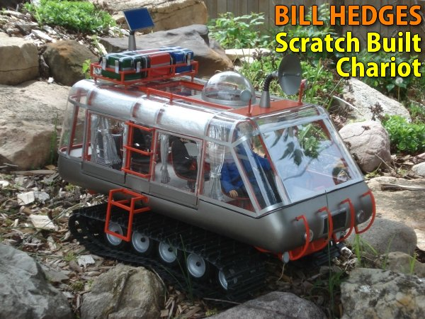 Bill Hedges Scratch Built Chariot